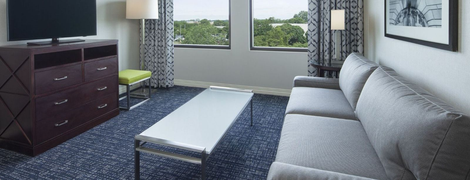 Philadelphia Airport Accommodations - Two Bedroom Suite